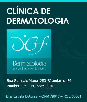 Clínica de Dermatologia DGF - Tratamento de Quelóides (Convênio ou particular)